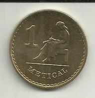 1 Metical 1980 Moçambique - Mozambique
