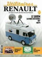 Fascicule SAVIEM Car Ondes Hertziennes ORTF 1971 (SANS LE MODELE REDUIT) - Littérature & DVD
