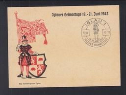 Tschechien PK Jglau Er Heimattage 1942 - Tschechische Republik