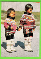 GROENLAND / GREELAND / GRONLUND / PETITES FILLES DE THULE EN COSTUMES DE CEREMONIE.... / Carte Vierge - Groenland