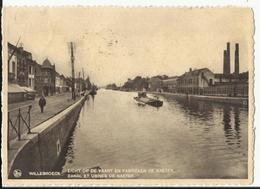Willebroek - Willebroeck - Zicht Op De Vaart En Fabrieken De Naeyer 1937 - Willebroek