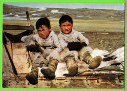 GROENLAND / GREELAND / GRONLUND / PETITS GARCONS DE THULE .... / Carte Vierge - Groenland