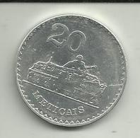 20 Meticáis 1986 Moçambique - Mozambique