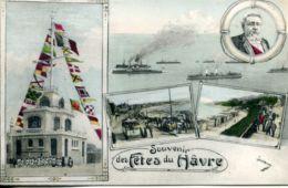 N°66046 -cpa Souvenir Des Fêtes Du Havre -multivues- - Saluti Da.../ Gruss Aus...