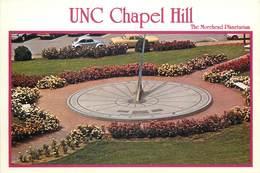 D1370 Chapel Hill Morehead Planetarium Sundial Rose Garden - Chapel Hill