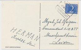 Treinblokstempel : Vlissingen - Dordrecht E 1947 - Periode 1891-1948 (Wilhelmina)