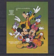 F177. Antigua & Barbuda - MNH - Cartoons - Disney's - Cartoon Characters - Goofy - Disney