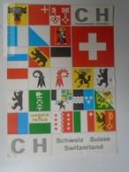 D161598 Switzerland Coats Of Arms - Sent From Tanganyika  Tanga  1960 To Basel - Oeganda
