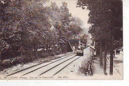 92. PASSY . PARIS . VUE SUR LA PASSERELLE . TRAIN - France