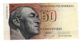 Finland 50 Marka 1986 NO Litt.A - Finlande