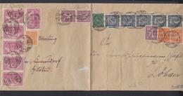 Dt. Reich Grossbrief Löbau 1923 - Briefe U. Dokumente