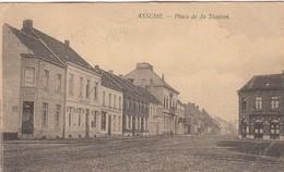 ASSE / ASSCHE / STATIONSPLEIN / PLACE DE LA GARE / CAFE DES ARCADES - Asse