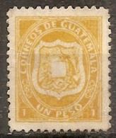 Guatemala -- N° 6  Neuf Sans Gomme - 1873 - Guatemala