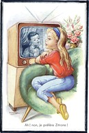 "ILLUSTRATEUR "" GIRONA "" - ENFANTS - TELEVISION - FILLETTE - Illustrateurs & Photographes"