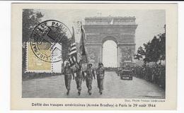 Carte Maximum 1946 Armée Bradley - 1940-49