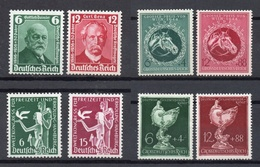 GERMANIA Reich Serie Complete Nuove Senza Linguella MNH  /** - Collections (without Album)