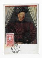 Carte Maximum 1946 Portrait De Charles VII - 1940-49