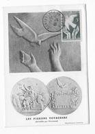 Carte Maximum 1946 Les Pigeons Voyageurs - 1940-49