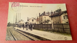 Montargis - Gare De La Chaussée (Train) / Edition Colorisée CFM - Montargis