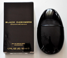 Donna Karan Black Cashmere Eau De Parfum Edp Spray 50ML Fl. Oz. 1.7 Perfume Woman Rare Vintage Old 2002 - Women