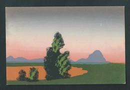 Paysage Peint à La Main. Travail Soigné. M.M.B. 528. - Cartes Postales