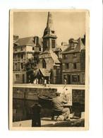 HONFLEUR (14) - Eglise St Etienne [peintre Devant Son Chevalet] - Honfleur