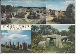 MEGALITHES DE CARNAC  VIEILLES PIERRES EN BRETAGNE - Dolmen & Menhire