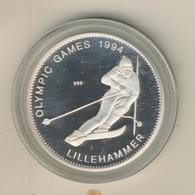 Zambia 1994,Olympische Spiele,,20 Kwacha,Silber 999,Kapsel  (54025) - Sambia