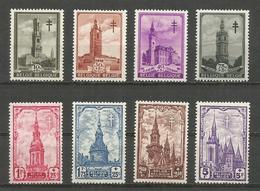 CADEAU - 1939 - COB N° 519 à 526 ** (MNH) IMPECCABLES - Neufs