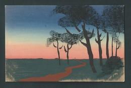 Paysage Peint à La Main. Travail Soigné. M.M.B. 399 - Cartes Postales