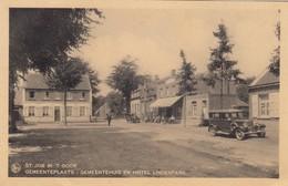 SINT JOB IN T GOOR  /  BRECHT / ANTWERPEN / GEMEENTEPLAATS / GEMEENTEHUIS EN HOTEL LINDENPARK - Brecht