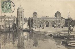 DUNKERQUE , Le Leugenaer Et Le Minck , 1907 , CPA ANIMEE - Dunkerque