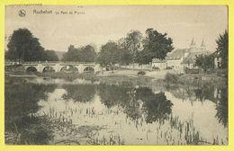 * Rochefort (Namur - La Wallonie) * (Nels, Série 11, Nr 21) Le Pont De Pierres, Canal, Quai, Bridge, Brug, Rare, Old - Rochefort