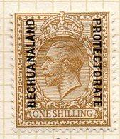 AFRIQUE - BECHUANALAND - (Protectorat Britannique) - 1914-21 - N° 36 - 1 S. Bistre - (George V) - Bechuanaland (...-1966)