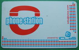 Italy PHONE STATION CARD UNUSED, Operator ICLOS, 10 EUO, RARE - Da Identificare