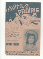 Partition C'est Ma Prairie Victoria Marino - Scores & Partitions