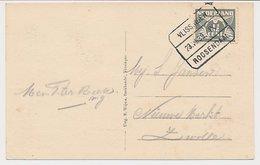 Treinblokstempel : Vlissingen - Roosendaal IX 1939 - Periode 1891-1948 (Wilhelmina)