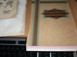 Buroartikel Schulartikel Zeichenwaren Richard Scheller Schreibwaren Fabrik Dresden - Publicités