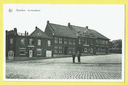 * Beselare (Zonnebeke - Ieper - Ypres) * (Nels, Uitg; Van Kersschaever Soete) Marktplaats, Poste, Hotel De Ville, Café - Zonnebeke