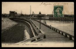 44 - Saint-Nazaire - 8 - Les Estacades Et L'ascenseur #07688 - Saint Nazaire