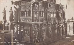 BEDFORD - ST NICHOLAS CHURCH PULPIT - Bedford
