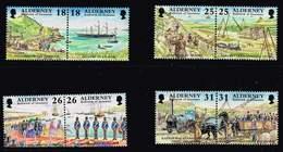 Alderney 1997, Michel# 108 - 115 ** - Alderney