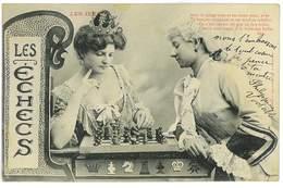 CPA LES JEUX LES ECHECS - Chess