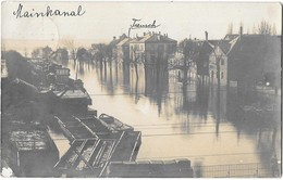 HANAU --Mainkanal -Carte Photo - Hanau