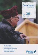 Faroe Islands - Îles Féroé - Faeröer Brochure Nr. 36 2018 - End Of WWII - Regin Dahl 100 Years - National Costumes - Faroe Islands