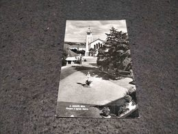 ANTIQUE PHOTO POSTCARD PORTUGAL - MONTE REAL - PARQUE E IGREJA MATRIZ CIRCULATED 1963 - Leiria
