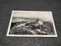 ANTIQUE PHOTO POSTCARD PORTUGAL - VIANA DO CASTELO - MONTE DE SANTA LUZIA E ABSIDE TO TEMPLO CIRCULATED NO STAMP 1964 - Viana Do Castelo