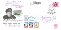 W30 RUSSIA 2004 100 YEARS FROM THE BIRTH OF MI Sheveleva. Polar Pilot. Hero Of The Soviet Union - Polar Explorers & Famous People