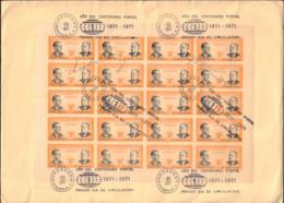 Ref. 371050 * NEW *  - GUATEMALA . 1971. HOMENAJE A LOS CREADORES DEL SELLO - Guatemala