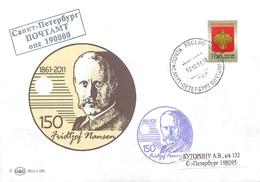 W30 RUSSIA 2011 150 YEARS FROM THE BIRTHDAY Fridtjof Nansen. Norwegian Polar Explorer - Polar Explorers & Famous People